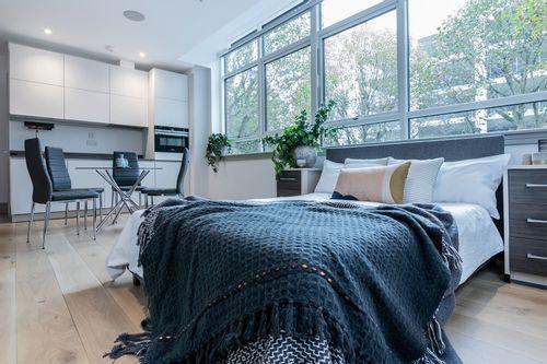Studio apartment to rent in London ZEN-ZH-0019