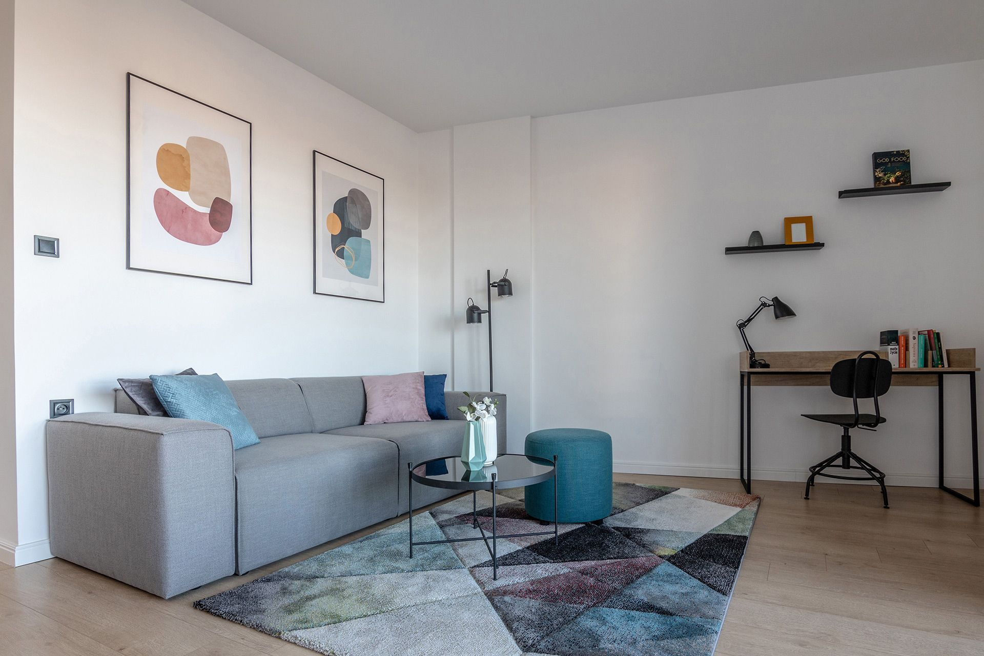 Studio - Large apartment to rent in Warsaw UPR-A-070-2