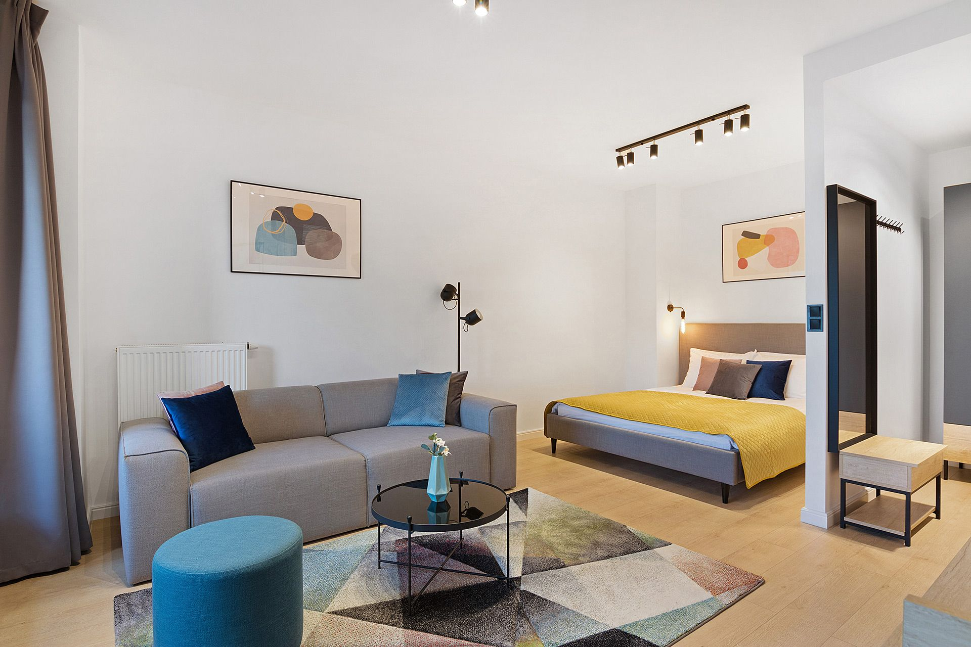 Studio - Medium apartment to rent in Warsaw UPR-A-043-2