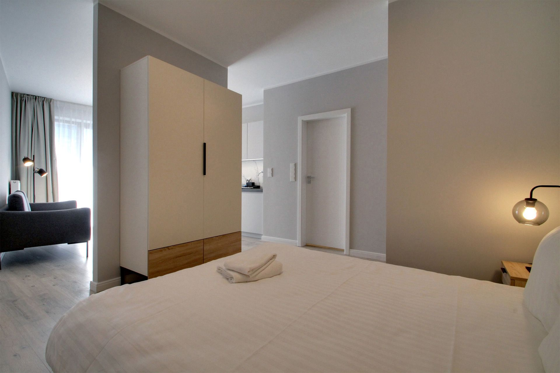 Studio - Medium apartment to rent in Warsaw UPR-A-009-1