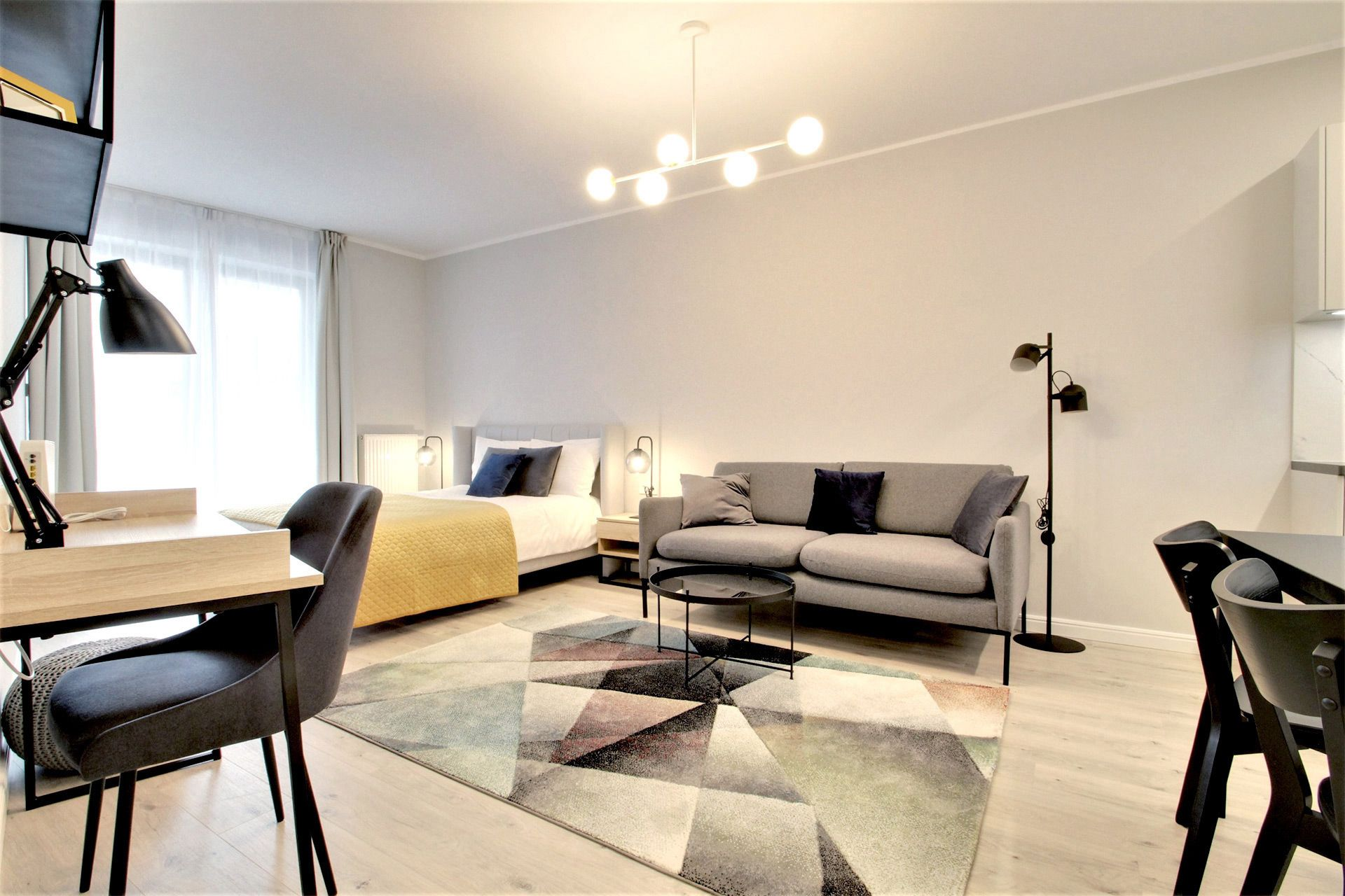 Studio - Medium apartment to rent in Warsaw UPR-A-039-2