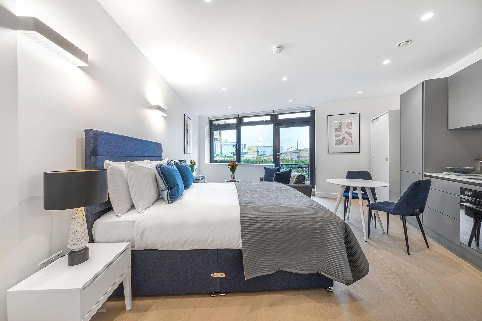Studio apartment to rent in London SKI-VH-0040