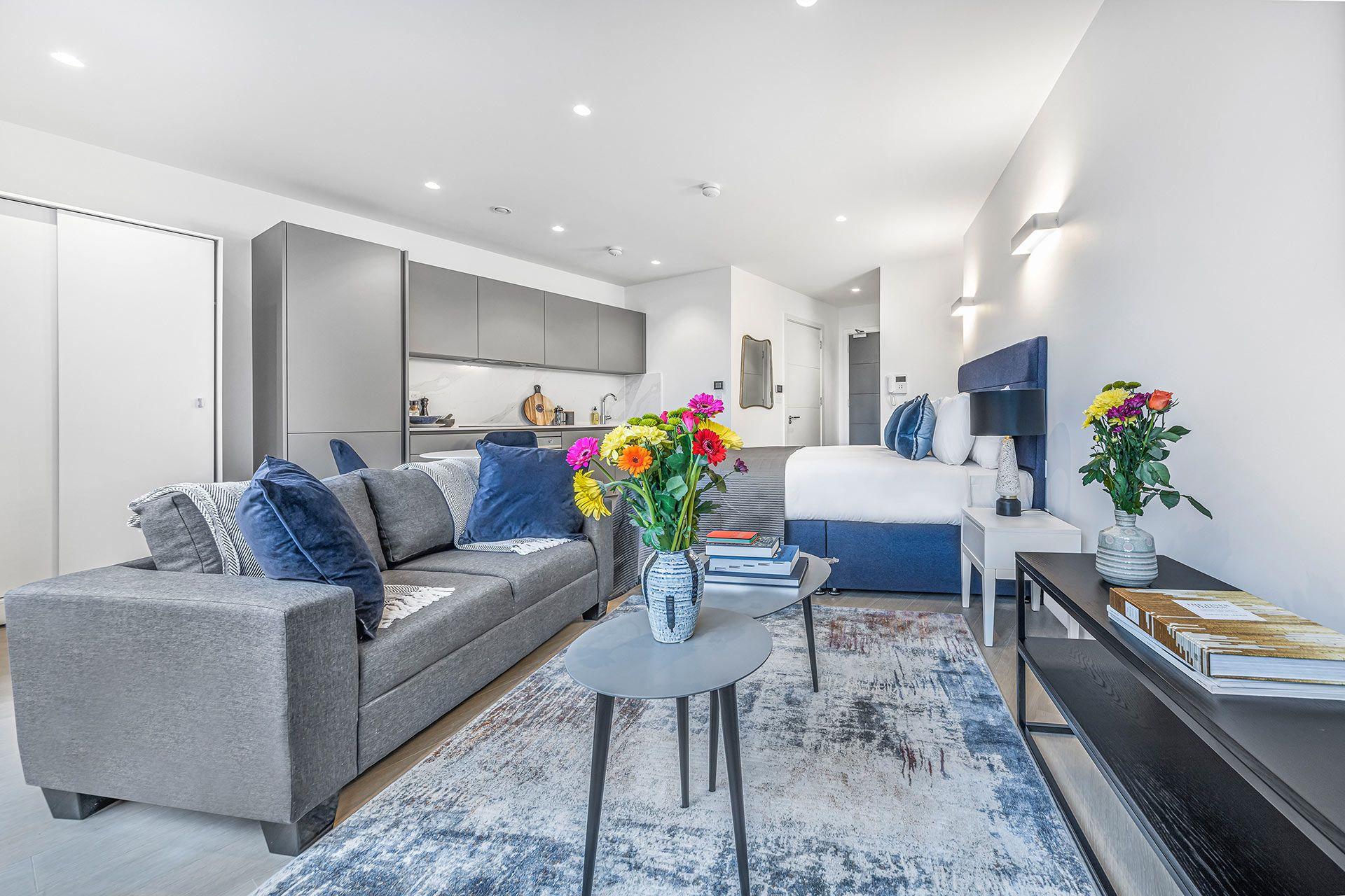 Studio apartment to rent in London SKI-FH-0045