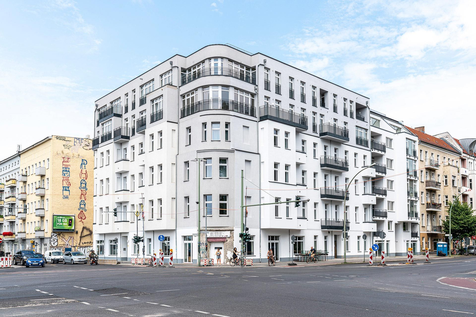 Berlin flats to rent Vonder Stralauer Allee 1