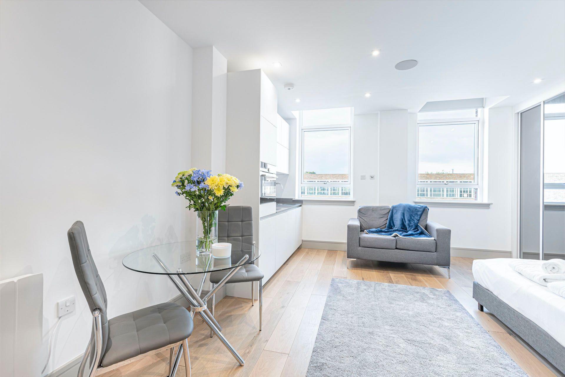 Studio apartment to rent in London ZEN-ZH-0075