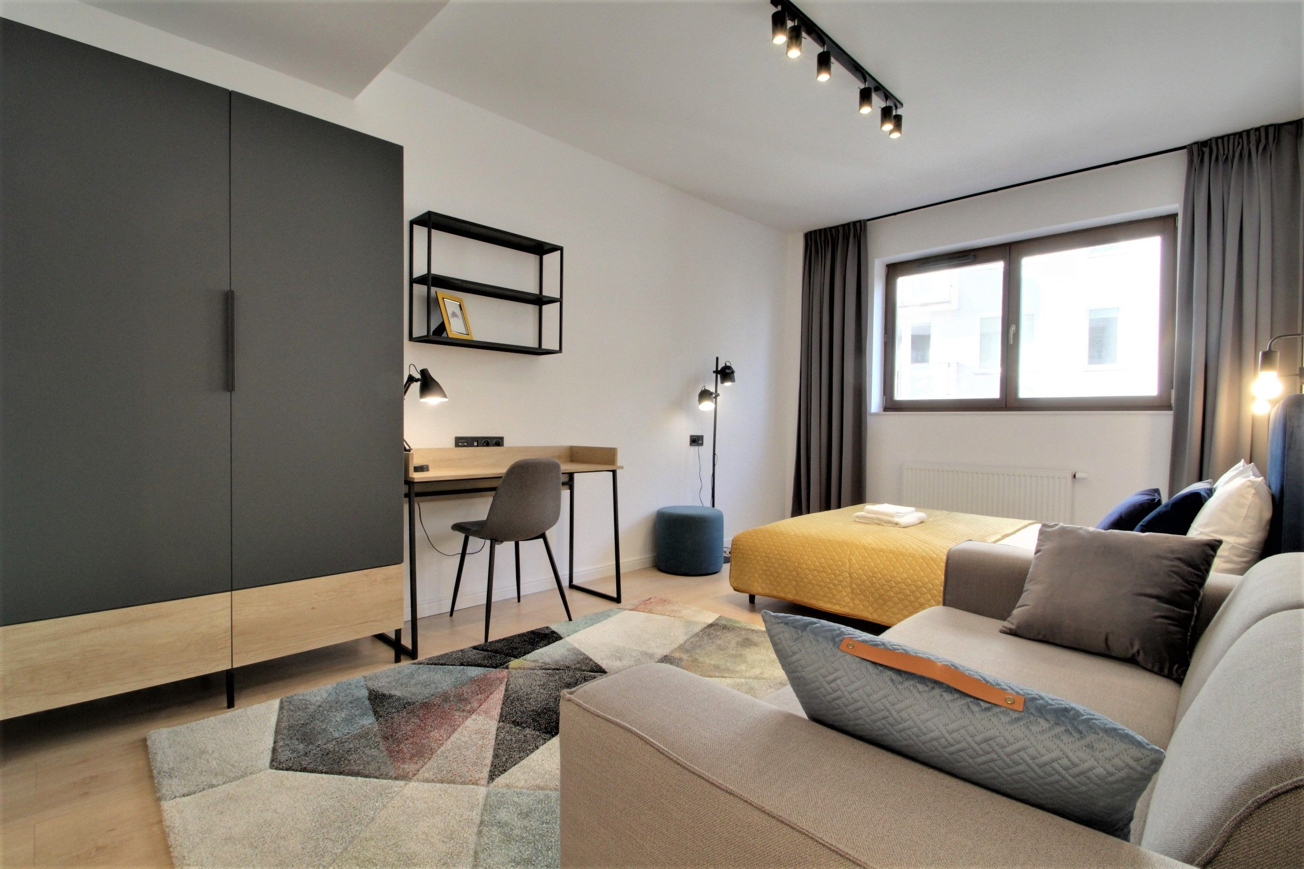 Studio - Small apartment to rent in Warsaw UPR-A-019-1