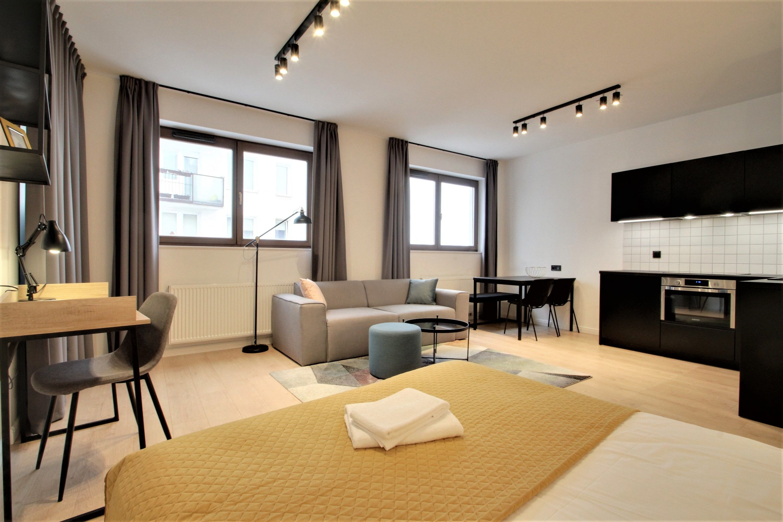 Studio - Large apartment to rent in Warsaw UPR-A-011-2