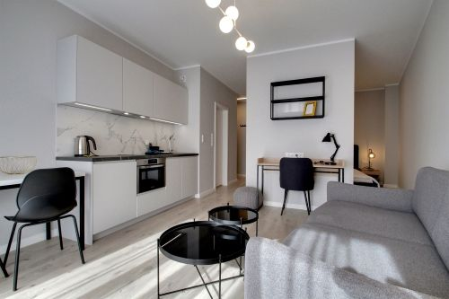 Studio - Medium apartment to rent in Warsaw UPR-A-028-1