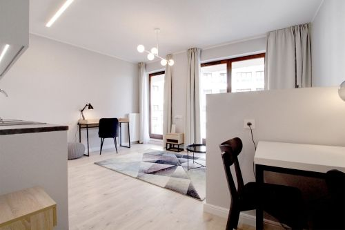 Studio - Small apartment to rent in Warsaw UPR-A-028-2