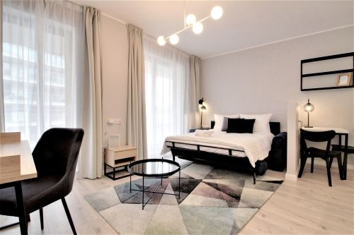 Studio - Small apartment to rent in Warsaw UPR-A-064-2