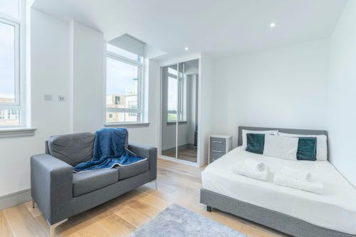 Studio apartment to rent in London ZEN-ZH-0091