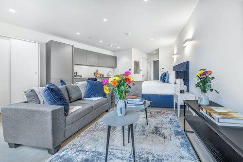 Studio apartment to rent in London SKI-VH-0045