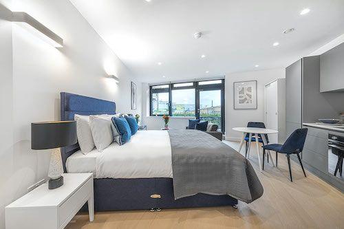 Studio apartment to rent in London SKI-VH-0062