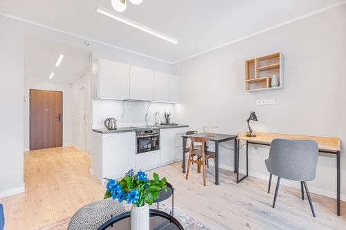 Studio - Small apartment to rent in Warsaw UPR-A-084-2