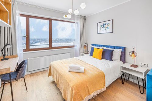 Studio - Medium apartment to rent in Warsaw UPR-A-084-3