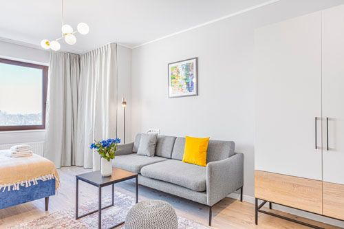 Studio - Medium apartment to rent in Warsaw UPR-A-048-1