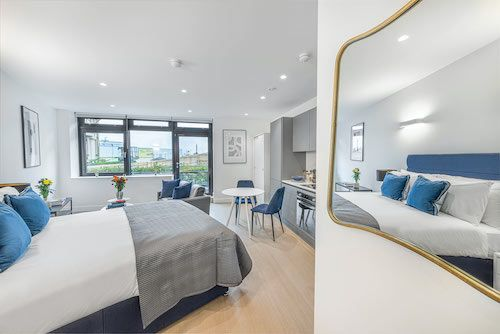 Studio apartment to rent in London SKI-FH-0039