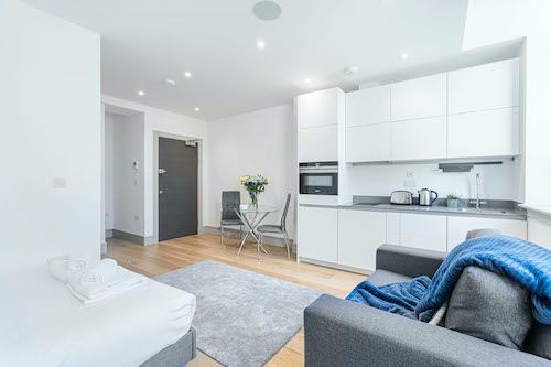 Studio apartment to rent in London ZEN-ZH-0038