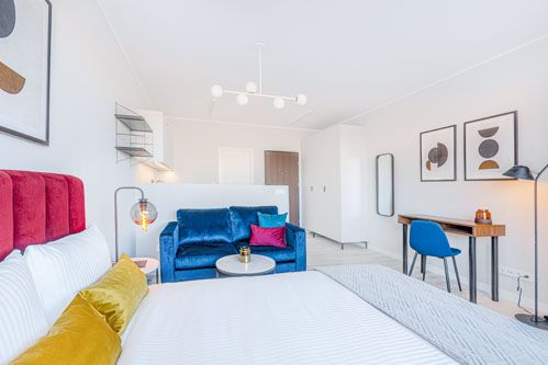 Studio - Medium apartment to rent in Warsaw UPR-B-118-2