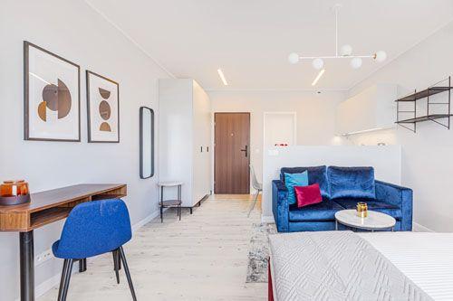 Studio - Medium apartment to rent in Warsaw UPR-B-128-1