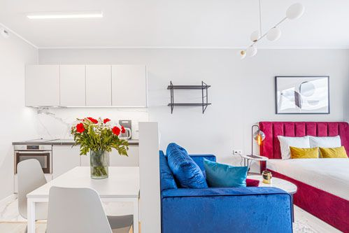 Studio - Medium apartment to rent in Warsaw UPR-B-130-1