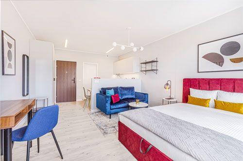 Studio - Medium apartment to rent in Warsaw UPR-B-150-1