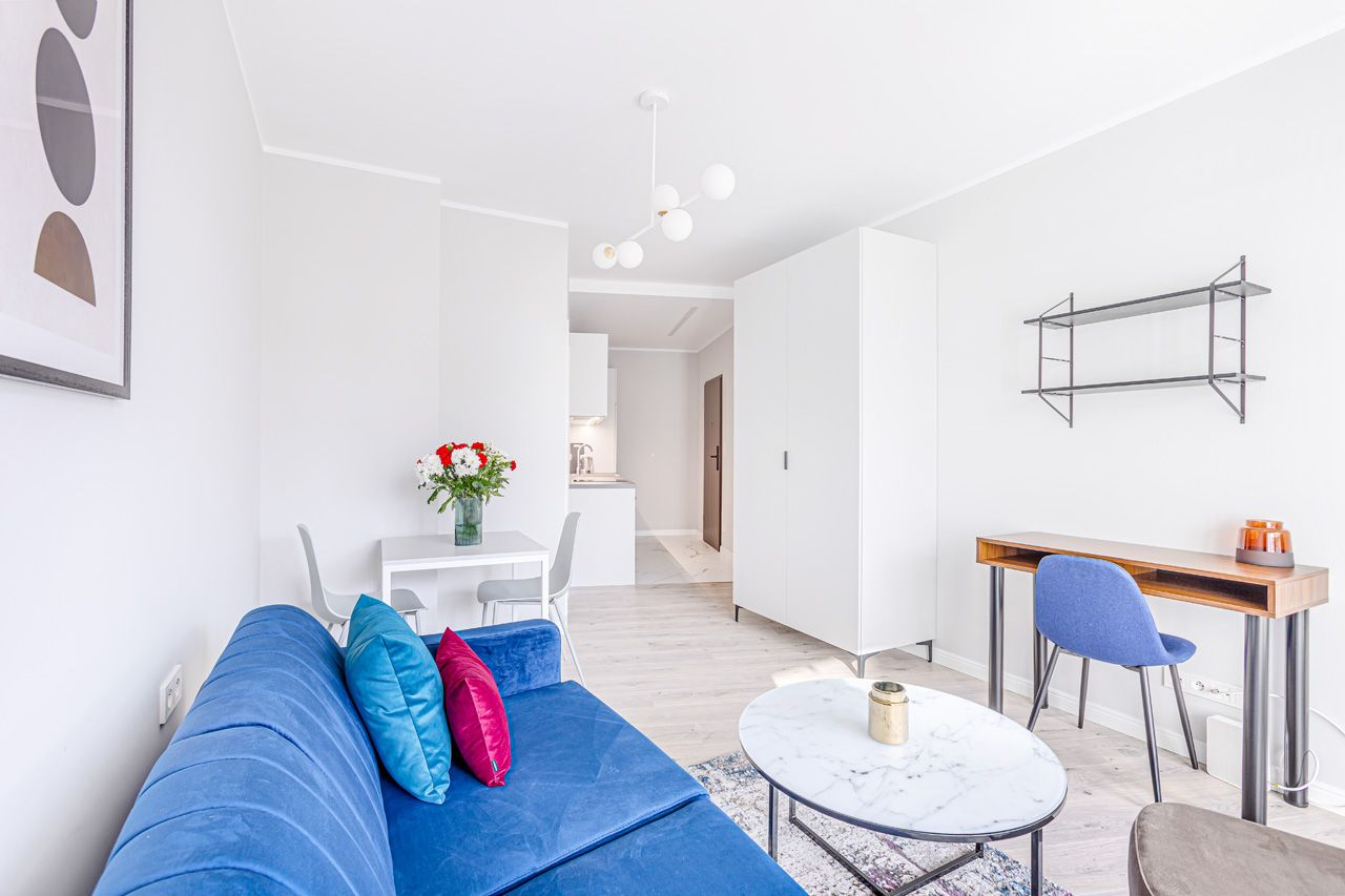 Studio - Small apartment to rent in Warsaw UPR-B-098-3