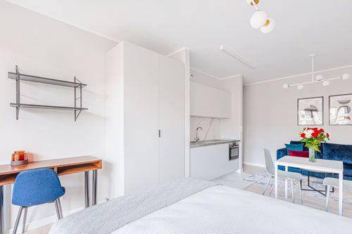 Studio - Small apartment to rent in Warsaw UPR-B-103-1