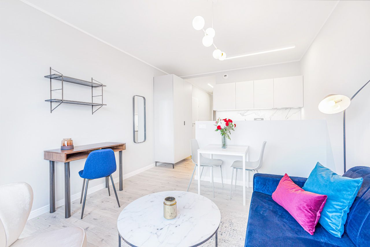 Studio - Medium apartment to rent in Warsaw UPR-B-131-1