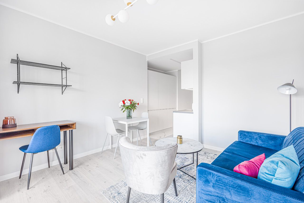 Studio - Small apartment to rent in Warsaw UPR-B-120-1