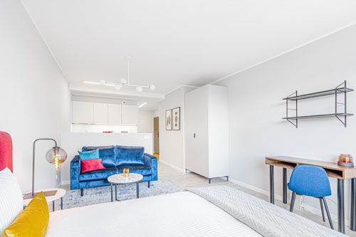 Studio - Medium apartment to rent in Warsaw UPR-B-120-2
