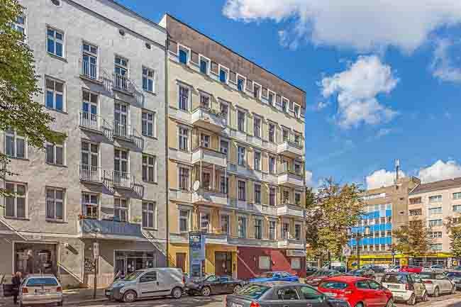 Berlin flats to rent Vonder Rückertstraße 2