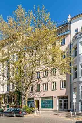 Berlin flats to rent Vonder Kurfürstenstraße 2